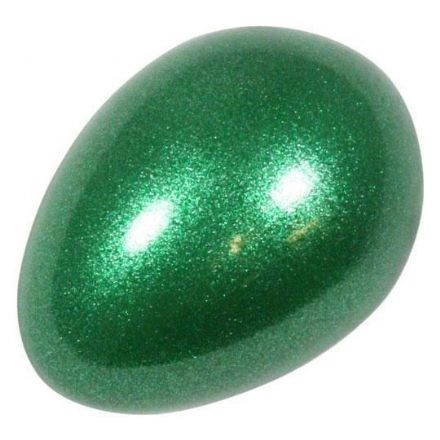Percussion Plus PP3097 Egg Shaker Green Sparkle